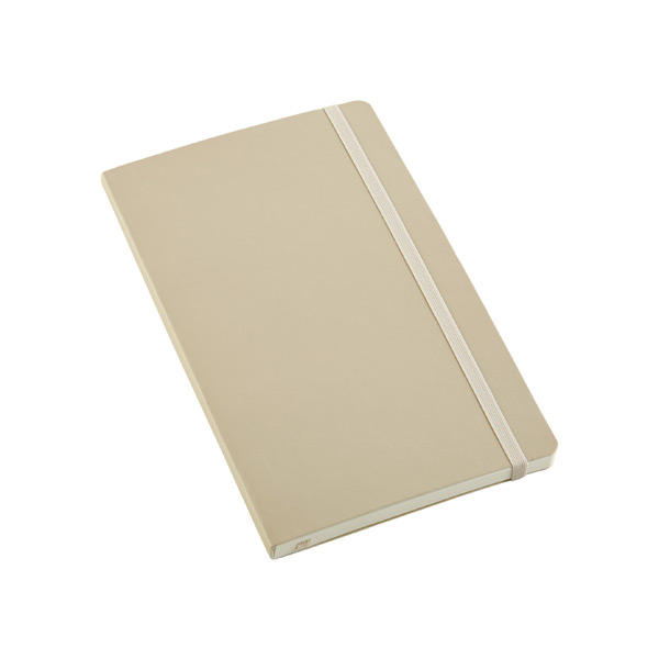 Large Moleskine® Soft Ruled Notebook Beige