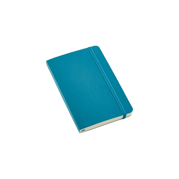 Pocket Moleskine® Soft Ruled Notebook Teal