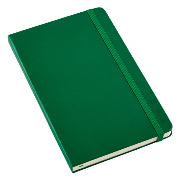 Large Moleskine Professional Book Green