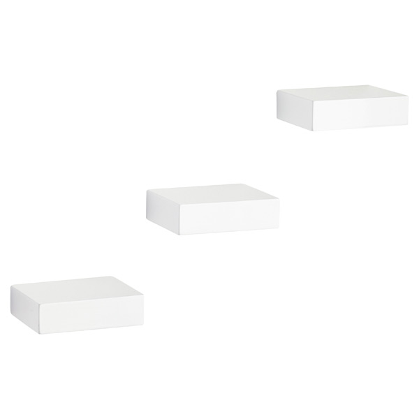 Umbra® Showcase Shelves White Set of 3
