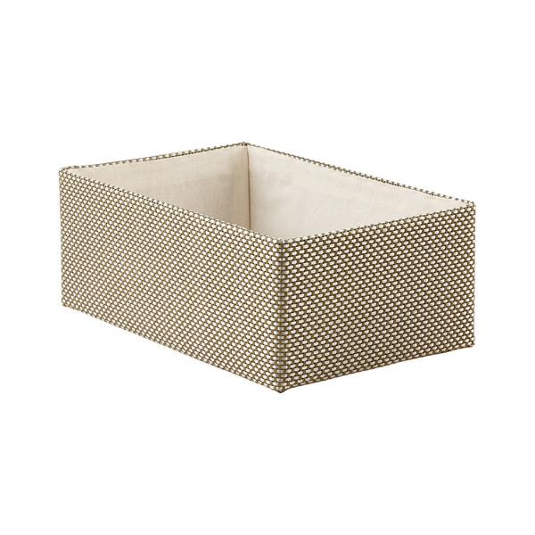 ... Medium Kiva Storage Bin Sage U0026 Silver