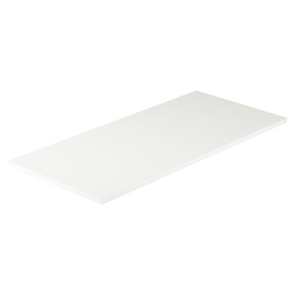 White Desk Table Part - 43: White Melamine Desk Top