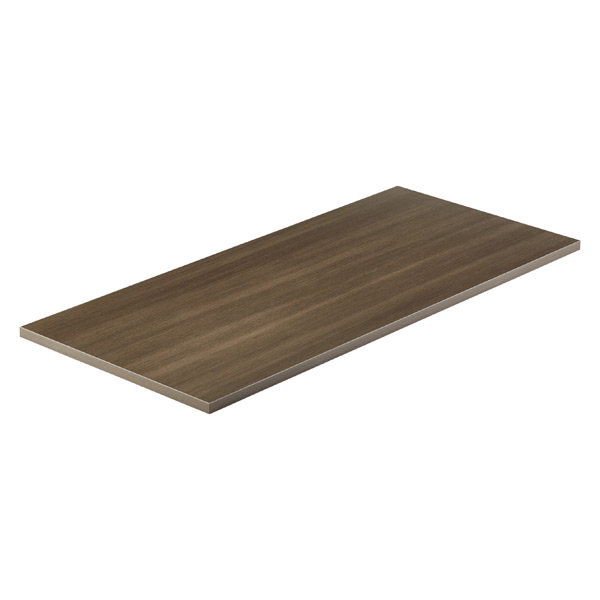 Driftwood Melamine Desk Top The Container Store