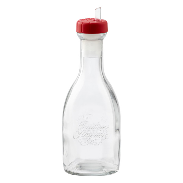 17 oz. Quattro Stagioni Glass Cruet 500 ml.