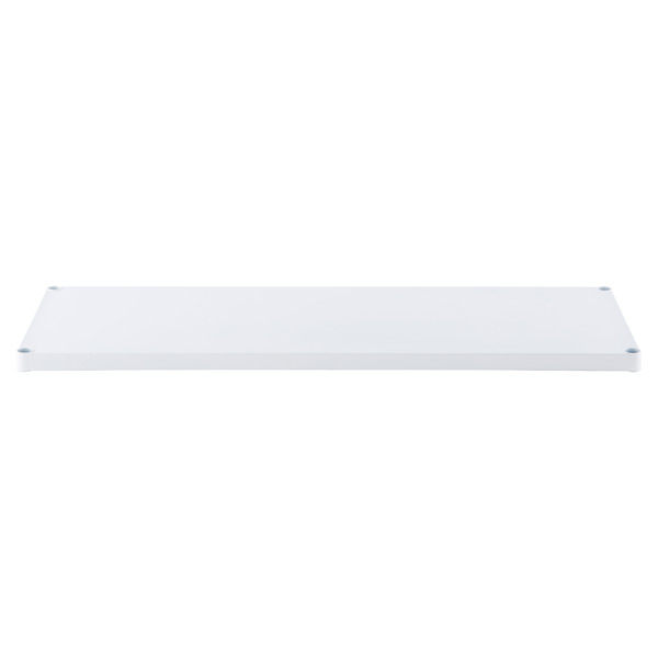 "18"" x 48"" InterMetro® Solid Shelf White"