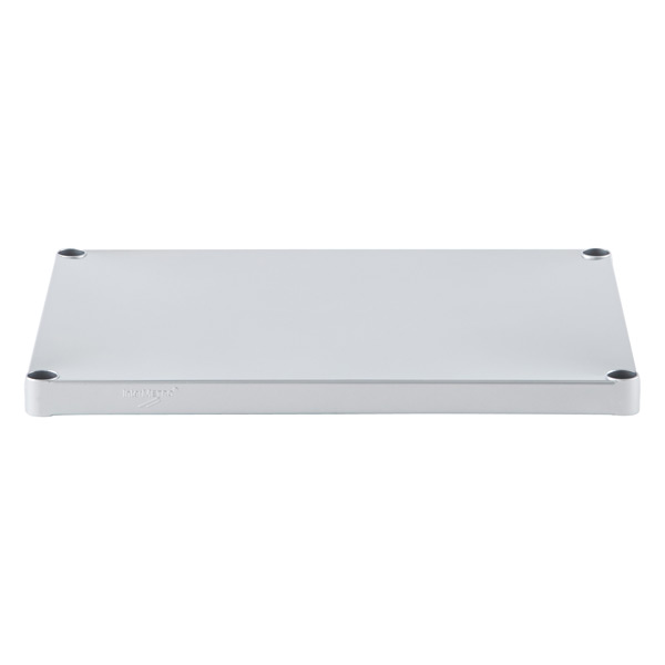"18"" x 24"" InterMetro® Solid Shelf Silver"
