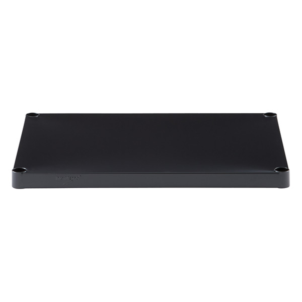"18"" x 24"" InterMetro® Solid Shelf Black"