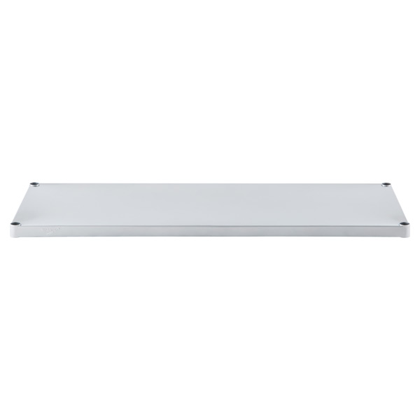 "18"" x 48"" InterMetro® Solid Shelf Silver"