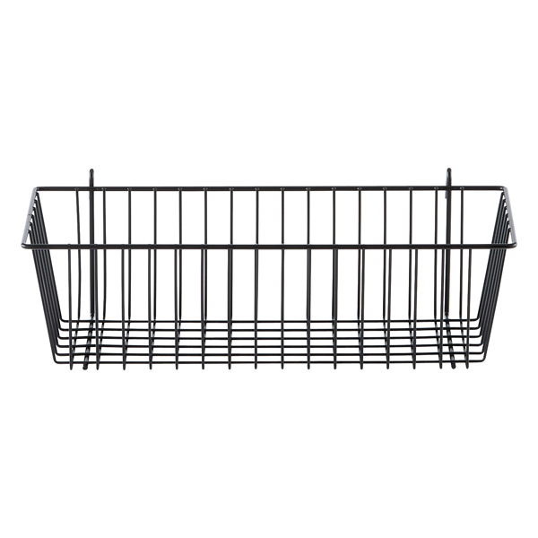 InterMetro® Storage Basket Black