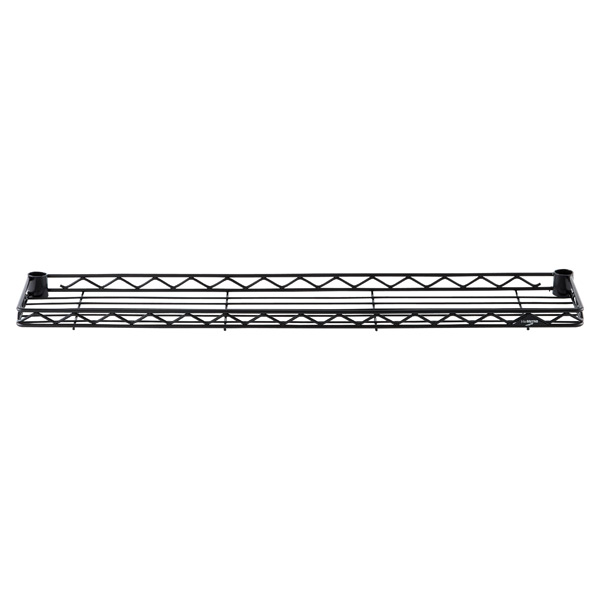 "8"" x 36"" InterMetro® Ledge Shelf Black"