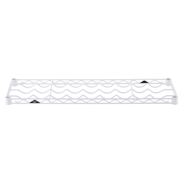 "14"" x 36"" InterMetro® Wine Shelf White"