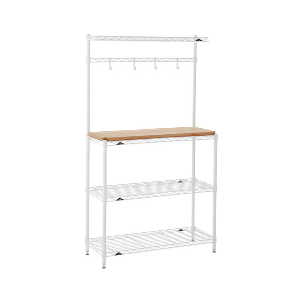InterMetro® Baker's Rack White