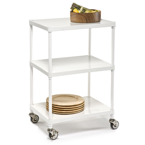 InterMetro® Solid Shelf Serving Cart