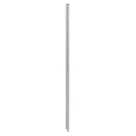 InterMetro 34-1/2 inch Silver Post
