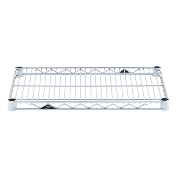 "18"" x 24"" Metro® Commercial Chrome Shelf"