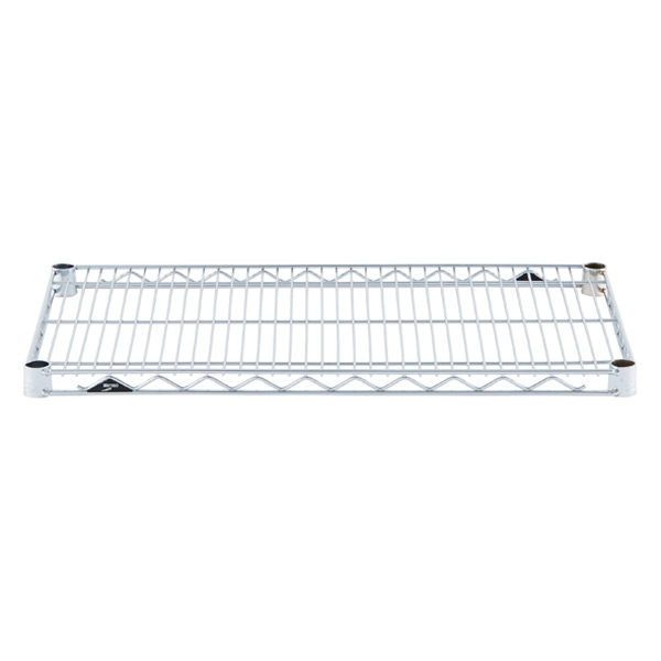"18"" x 30"" Metro® Commercial Chrome Shelf"