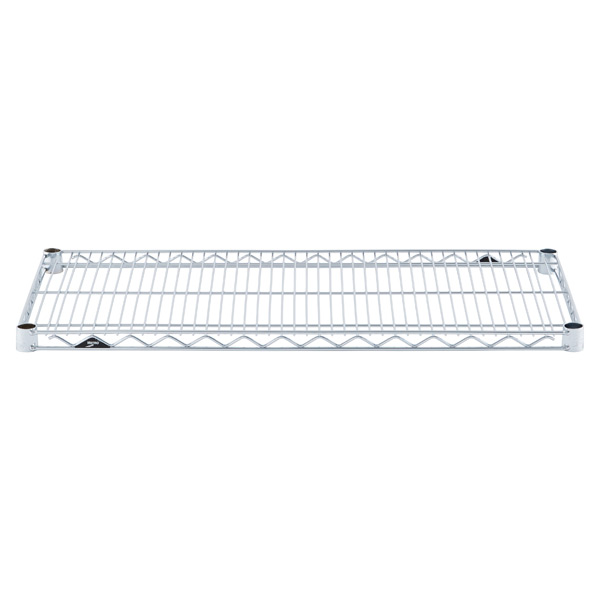 "18"" x 36"" Metro® Commercial Chrome Shelf"