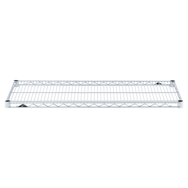 "18"" x 42"" Metro® Commercial Chrome Shelf"