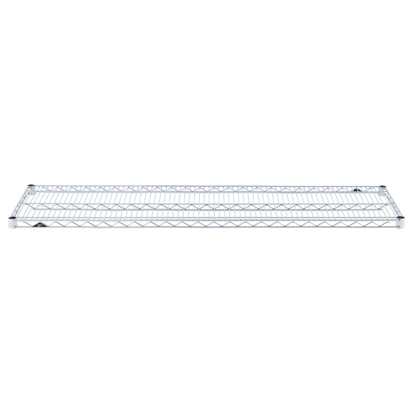 "18"" x 60"" Metro® Commercial Chrome Shelf"