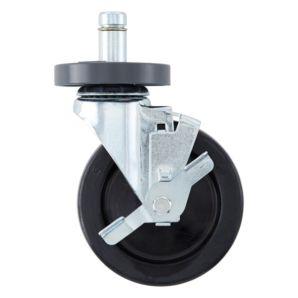 "Metro® Commercial 5"" Industrial Caster with Brake"