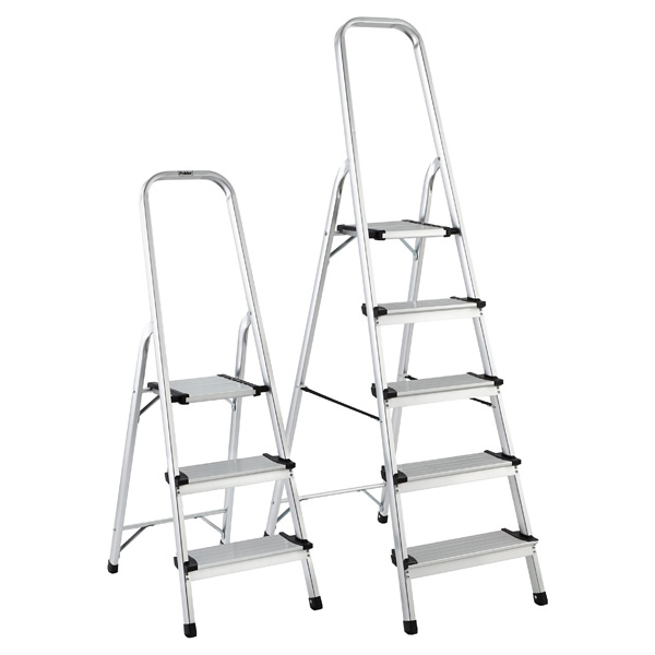 3- u0026 5-Step Aluminum Ladders ...  sc 1 st  The Container Store & Step Ladder - 3- u0026 5-Step Aluminum Ladders | The Container Store islam-shia.org