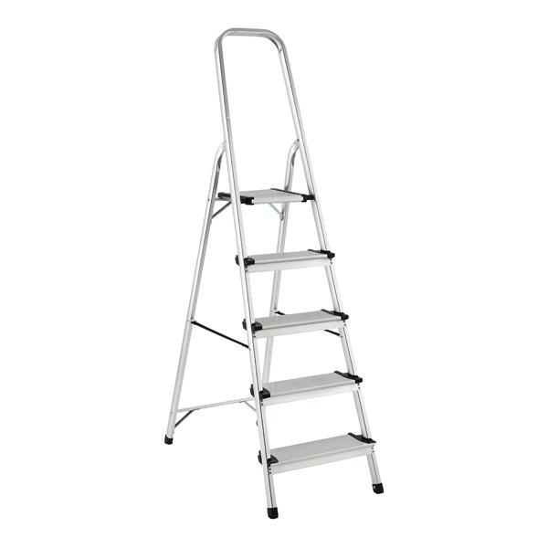 Polder 5 Step Ladder Aluminum