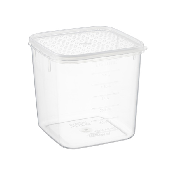 1.9 qt. Tellfresh® Square 1.75 ltr.