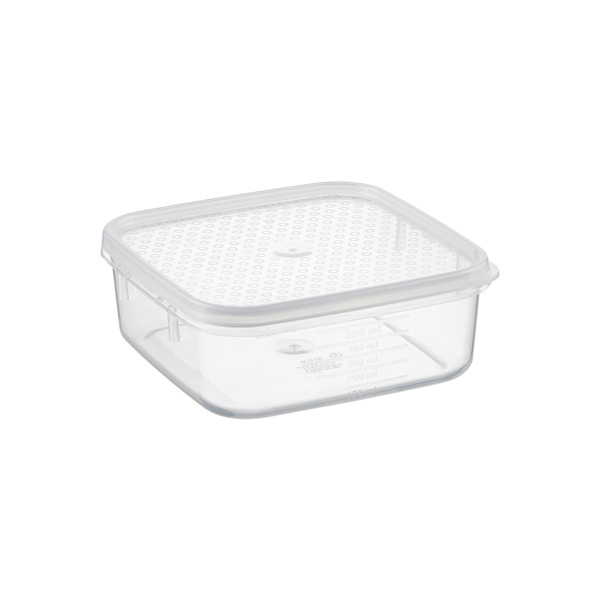 17 oz. Tellfresh® Square 500 ml.
