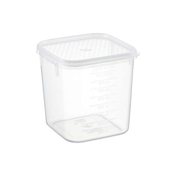 1.2 qt. Tellfresh® Square 1.125 ltr.