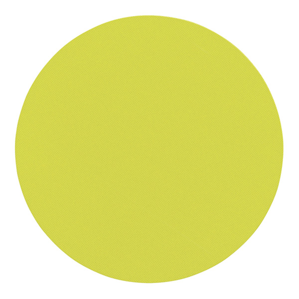 3M Scotch® Restickable Circles Chartreuse Pkg/18