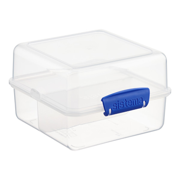 48 oz. Klip-It® Lunch Cube To Go Clear 1.4 ltr.