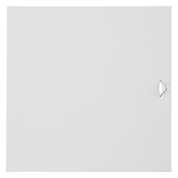 QBO® Solid Steel Door Enameled White
