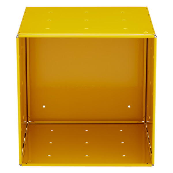 QBO® Steel Cube Enameled Yellow