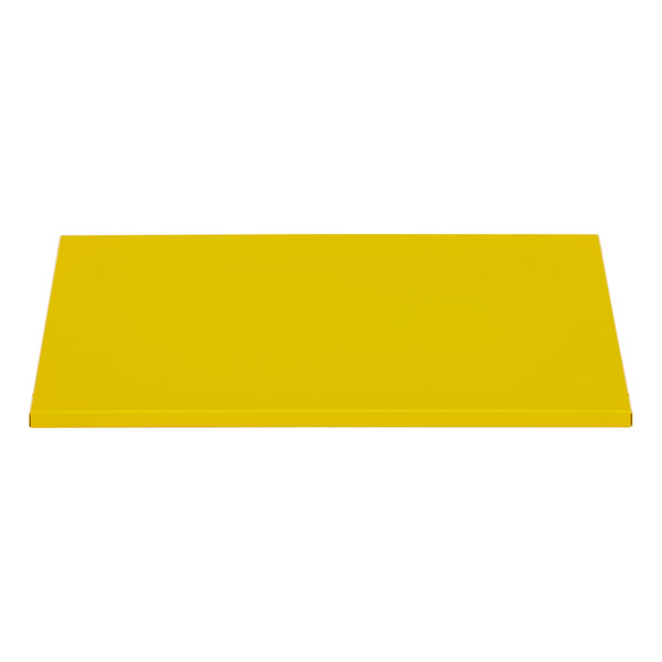 QBO® Solid Steel Shelf Enameled Yellow