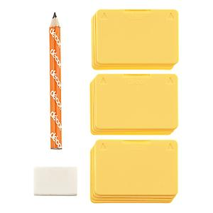 Tellfresh Tags with Pencil & Eraser Pkg/12
