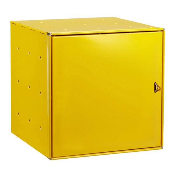 Yellow Enameled QBO® Steel Cube Door