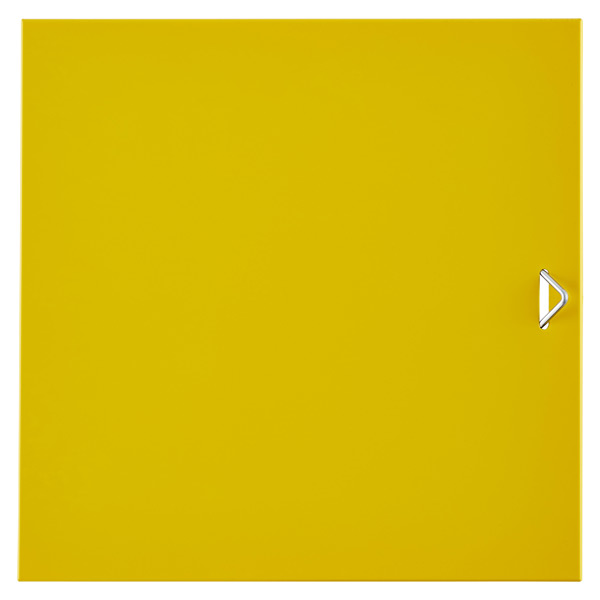 QBO® Solid Steel Door Enameled Yellow