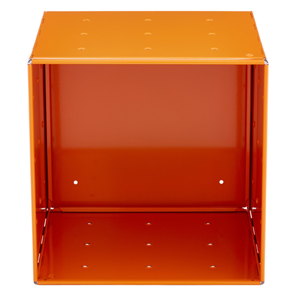QBO® Steel Cube Enameled Orange