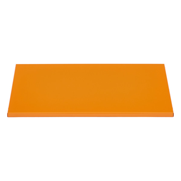 QBO® Solid Steel Shelf Enameled Orange
