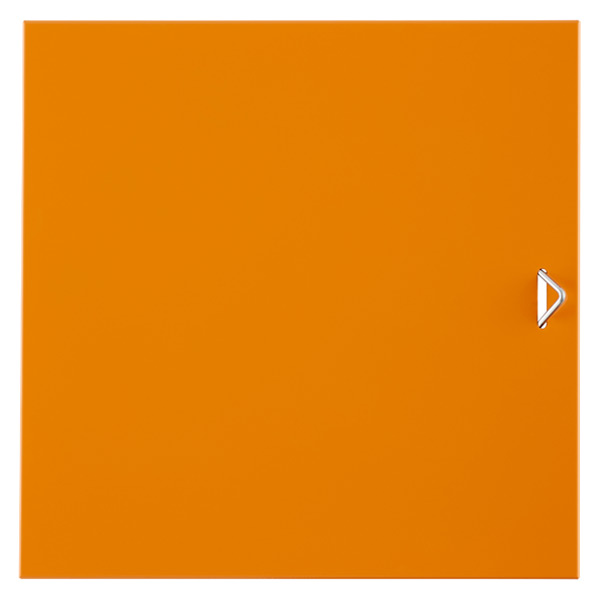 QBO® Solid Steel Door Enameled Orange