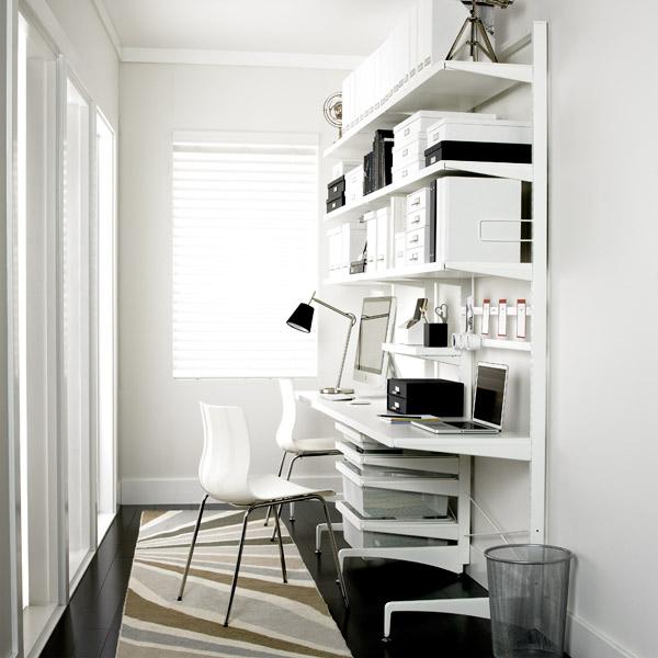 Elegant White Desk; White Desk ...