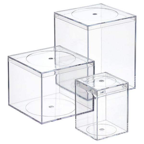 Clear flush lid amac boxes the container store clear flush lid amac boxes m4hsunfo