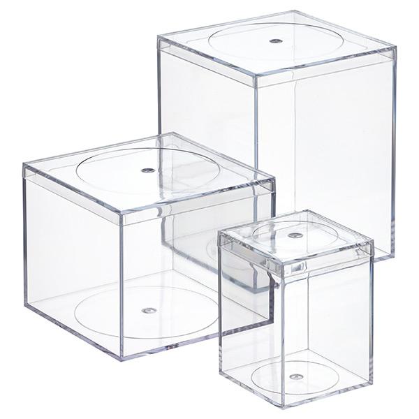 Clear Flush Lid Amac Boxes