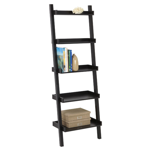 Linea Leaning Bookcase Java