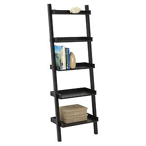 Java Linea Ladder Shelf The Container Store