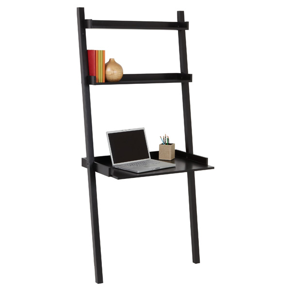 Java Linea Leaning Desk The Container Store
