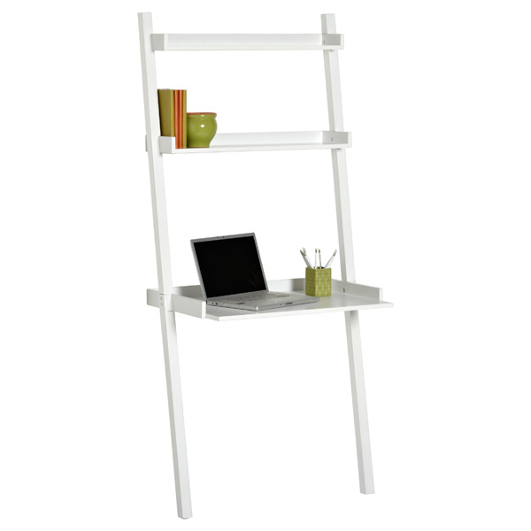 Linea Leaning Desk White