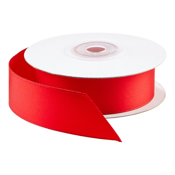 Ribbon Double Faced Satin Red