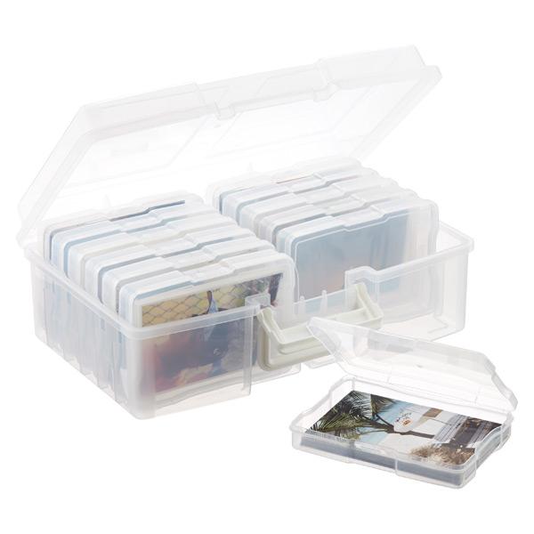 Iris 12-Case 4  x 6  Photo Storage Carrier  sc 1 st  The Container Store & Iris 12-Case 4