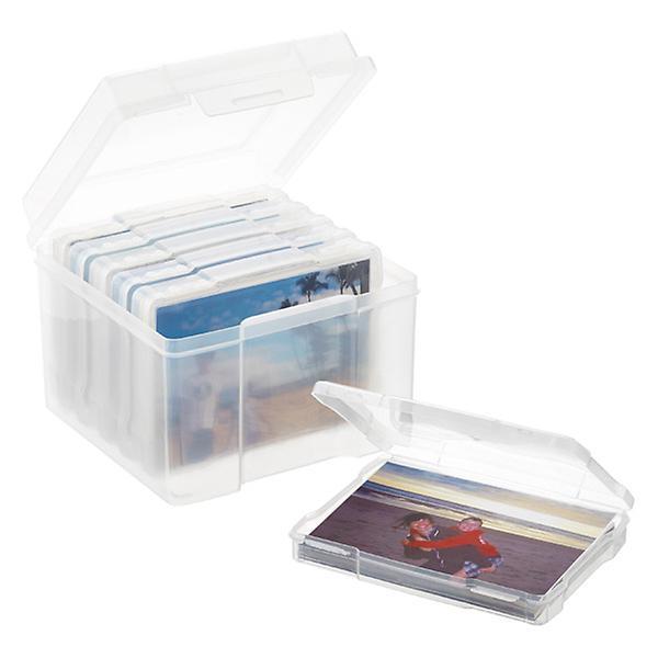 Photo Storage Box 6 Case 5 X 7, Craft Cases Storage